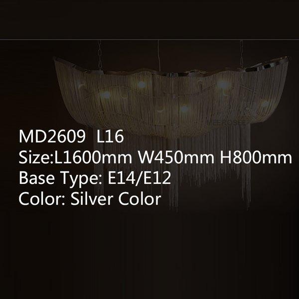 L1600 W450 H800mm