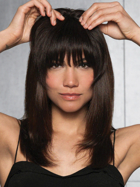 Clip In Fringe Blunt Bangs Cute And Easy Hairstyles For Short Hair The Best Short Hairstyles Synthetic Hair Extension Sale Hair Care Tips For Long