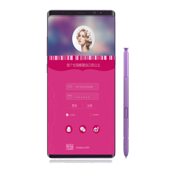 Goophone N9 9 MTK6580P 6.3 Inch 1GB RAM 8GB ROM Real Face ID Real Touch ID 3G WCDMA Show 4G LTE MobilePhone