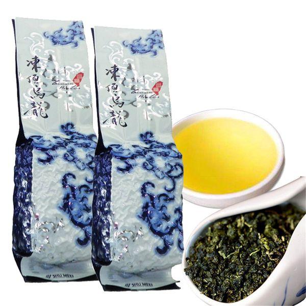 top popular Green Food 250g Chinese Taiwan Premium Tieguanyin Oolong Beauty Tea High Mountains Featured Milk Tikuanyin Oolong Tea Tie guan yin Green Tea 2020