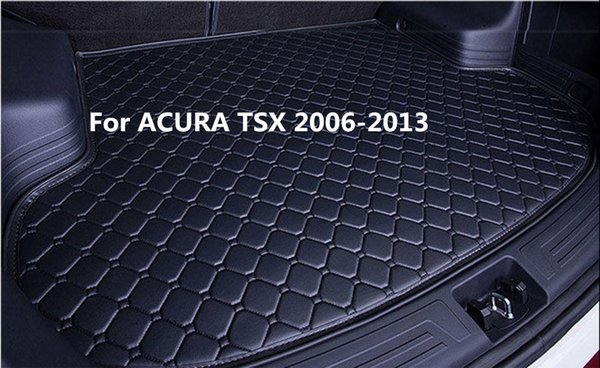 Waterproof Car Rear Cargo Boot Trunk Cargo liner Mat Pad For ACURA TSX 2006-2013