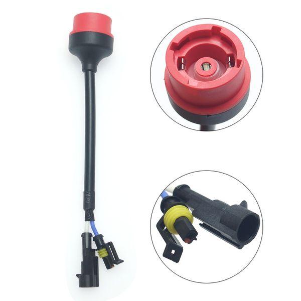 2pcs Car D2S D2R D2C D4S Headlight Socket Wiring Harness AMP Wire Relay Connector HID Ballasts Bulb Light Adapter #5996