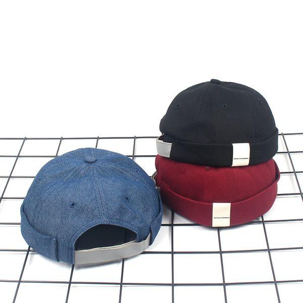 Bonnet Hip Hop Beanie Skullcap Men Women Hip Hop Hat Chapeau Original Mike Hat Short Beanie for Men Docker Watch Cap Ladies