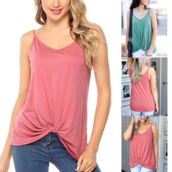 Kadın giyim bayan tasarımcı t shirt Kink Kadın T Gömlek Kolsuz Yaz Ceket Polyester Elyaf Malzeme 2020 sıcak satış