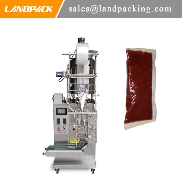 Автоматическая Система мгновенных Лапша нефти Packet Вертикальная форма заполнения и запаивания машины приправой сумка 3 Боковая сумка запайки