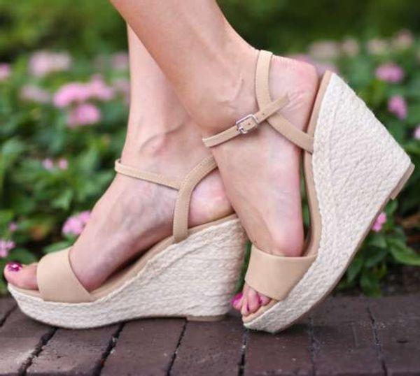 Sexy2019 Kadın Sandalet ile Yüksek Eğim 40-43 Kod Olacak
