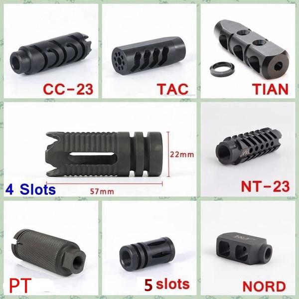 F&N Tactical .223 5.56 Steel Muzzle Brake 1 2