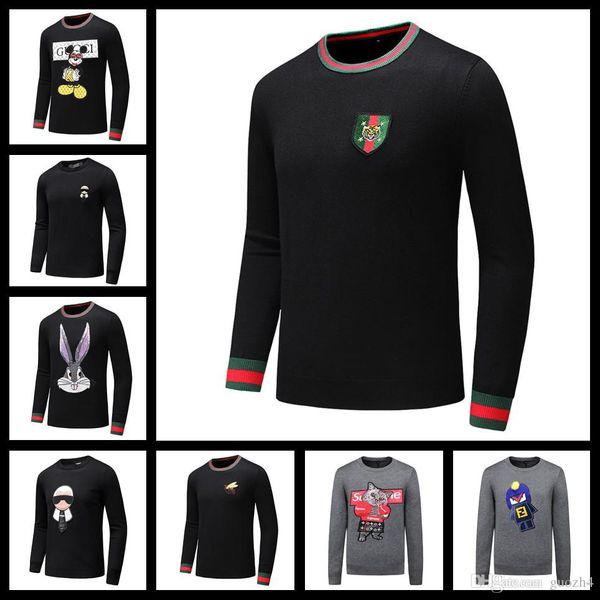 iduzi Mejor calidad Nueva moda vintage suéter Oficina Boda hombre vestido suéter Negocios fondos rojos blanco rojo Tamaño de los hombres lisy2