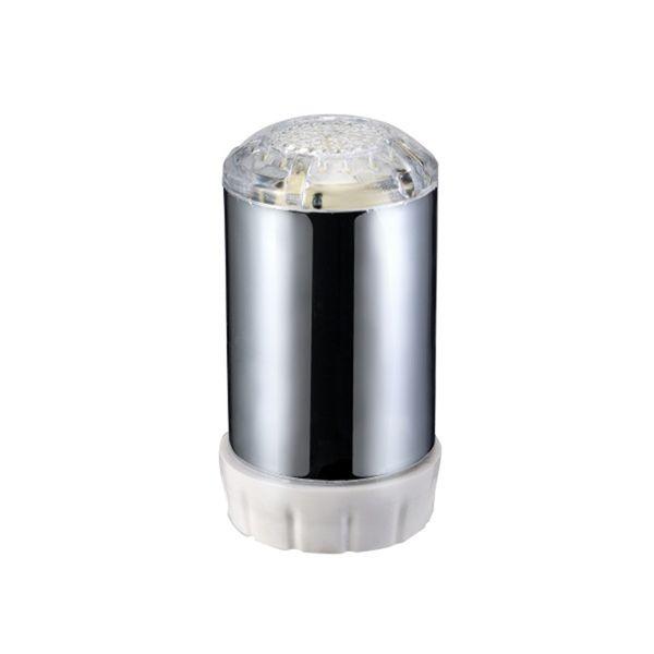 Yeni LED Su Musluk Akış Işık Mutfak Banyo Duş Dokunun Musluk Memesi 3.5 cm x 2.4 cm