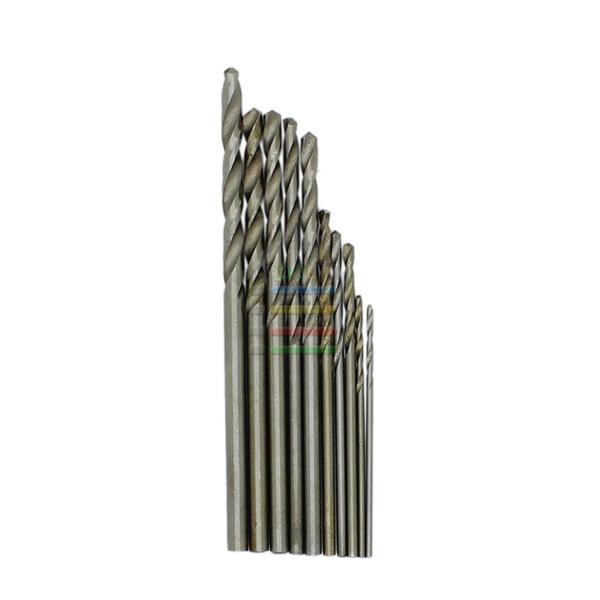 drill bit set New 10pcs Jobbers Mini Micro HSS Twist Drill Bits 0.5-3mm for Wood PCB Presses Drilling Hobby Tools