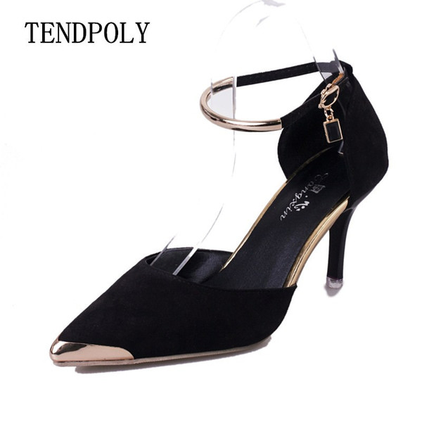 Dress Shoes New simple fashion high-heeled shoe summer buckle set the trendy wild banquet hot section casual sexy prom wedding Women's
