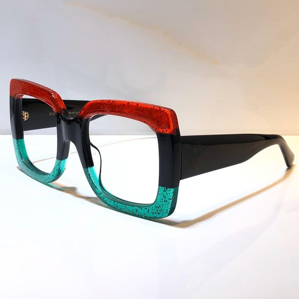 red green clear lens