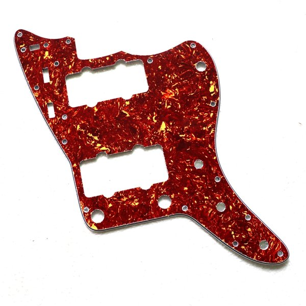 New electric guitar guard plate front cover red tortoise shell accessories screw