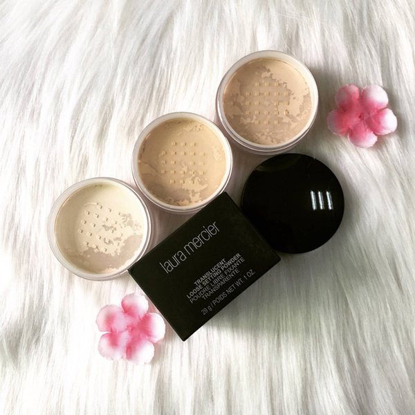 EPACK Laura Mercier Foundation Loose Powder Setting laura face powder Fix Makeup Powder Min Pore Brighten Concealer