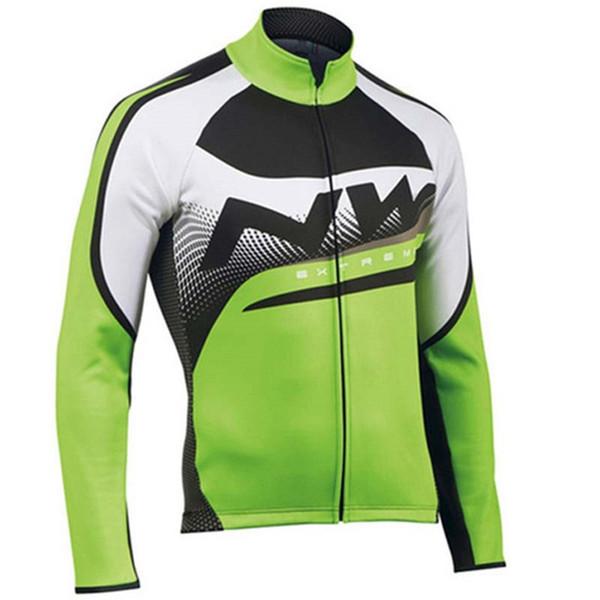 di alta qualità della camicia mtb della bicicletta 2019 uomini NW maglia del team cycling autunno vestiti bici da strada lunga sleece corsa in cima all'aperto abbigliamento sportivo K092704