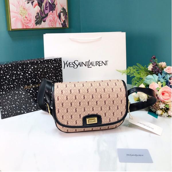 2019 nouveaux sacs à bandoulière concepteur gros coffre Sac bandoulière Logo Embellissement dames concepteur sacs à bandoulière style preppy Livraison gratuite