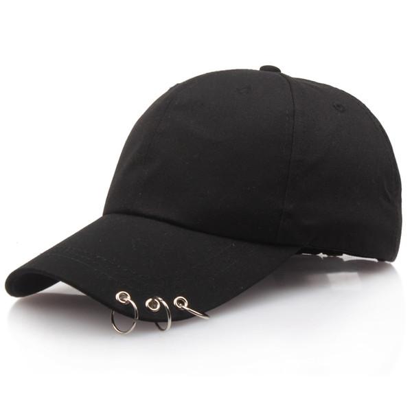 2019 modèles d'explosion nouvelle version coréenne de la casquette de baseball à trois anneaux casquette de baseball en plein air de loisirs sauvage couple casquette de mode hommes et femmes