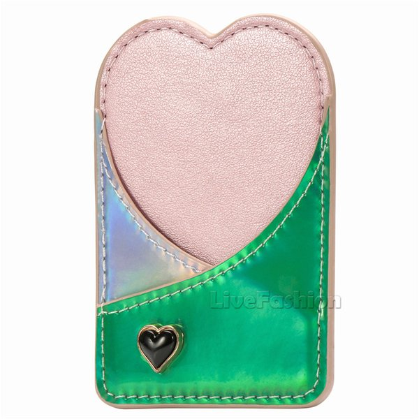 Universal Card Holder For Smartphone Wallet Credit ID Card Holder Pocket Adhesive Sticker For iPhone X Xs Xr Xs max Huawei Universal Phone