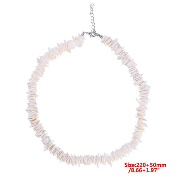 Simple Women Jewelry Handmade DIY Broken Shell Bracelet Anklet Fashion Girls Seaside Beach Jewellery Chain
