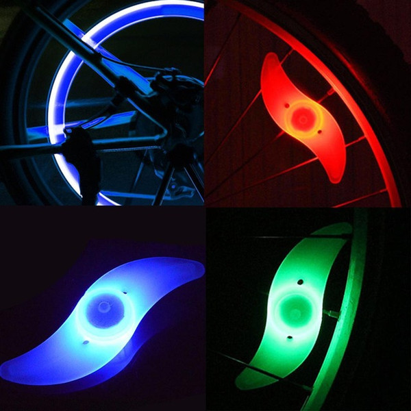 Hot Sale Fancy Flashing LED Bike Bicycle Cycling Wheel Wire Tyre Bright Spoke Light Lamp