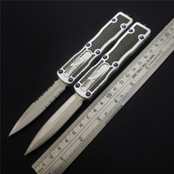 Quente! Makora ii facas de bolso tático automático d2 lâmina de alumínio cnc handle sobrevivência ao ar livre caça camping faca multi ferramentas edc