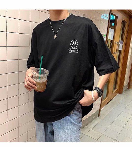 HipHop Herren T-Shirt Cool Man Fashion Design Print Lässig Männlich Top Tees Kurzarm Bekleidung Herren Tees