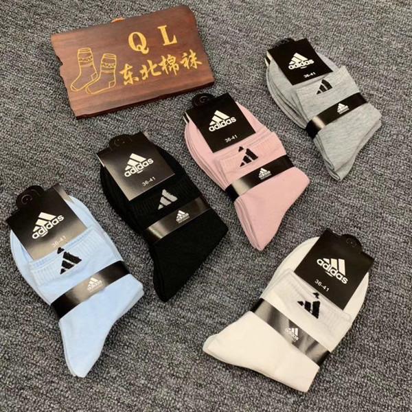 2019 качества дизайнер носки моды мужские носки унисекс дамы хлопок пара роскошных мужские дизайнерские носки бесплатно size77120