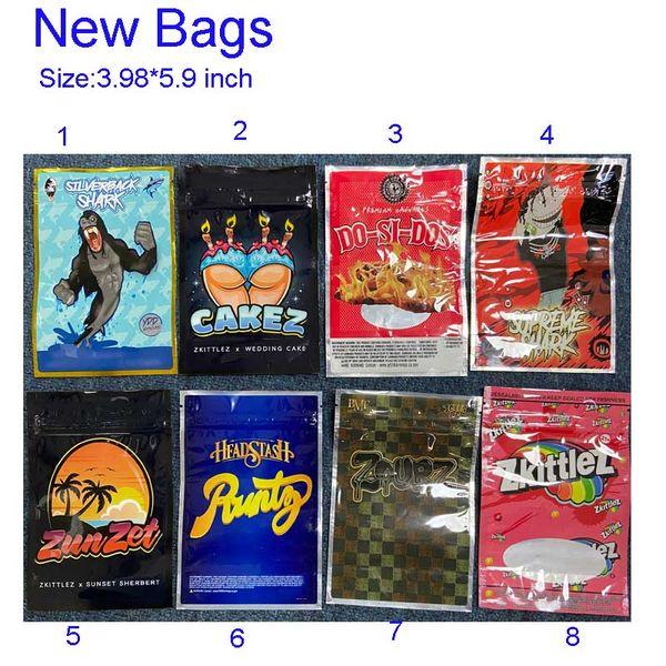 best selling Silverback Shark Cakez Zkittlez Black Zourz HeadStash Runtz Zunzet 3.5 7g bag for dry herb flower