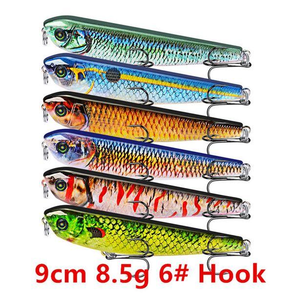 9cm 8.5g 6# Hook