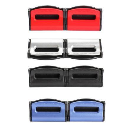 2 Stück Universal Car Sicherheitsgurte Clips Sicherheit Einstellbare Auto Stopper Buckle Plastikclip 4 Farben Interior Accessoires Auto-sty