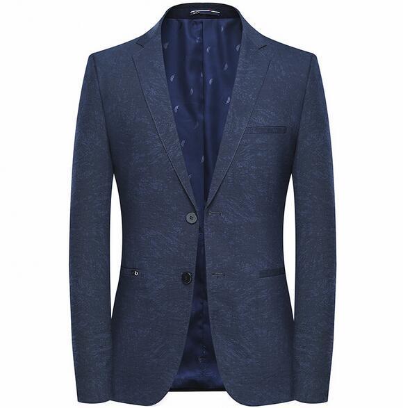 2019 Erkekler Yeni Varış Slim Fit Blazer Erkek Çiçek Blazers Çiçek Balo Elbise Blazers Zarif Düğün Blazer ve Takım Elbise Ceket Erkekler 8809