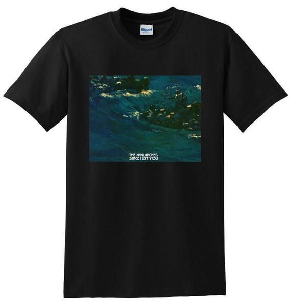 Лавины футболку, так как я оставил вас винил CD подарок печати футболка хип-хоп футболка новое прибытие тис причинно-следственной летом футболка