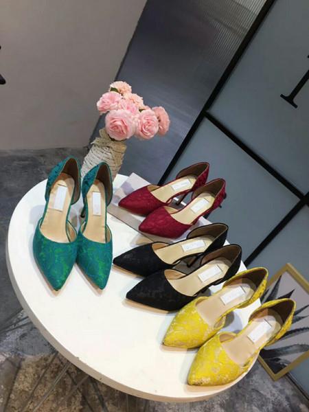 Verano lujo Strange Heel Crystal diseñador zapatos mujer PVC sandalias de tacón alto candado correa del tobillo sandalias de diamantes de imitación hk19050801