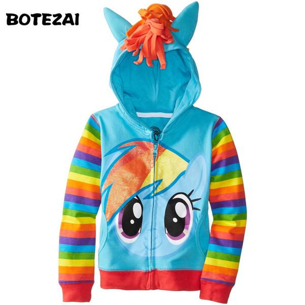 1PCS New 2015 Girls little Kids Jacket Children's Coat Cute Girls Coat &Hoodies & Girls Jacket Children Clothing Cartoon