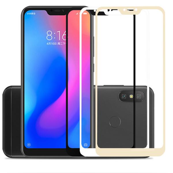 Cristal protector completo para Xiaomi A2 Lite vidrio templado para Xiaomi Mi A2 Lite A 2 A1 5X 6X mia1 mia2 mi5x mi6x Protector de pantalla