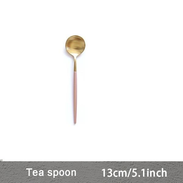 Color:Pink Tea spoon