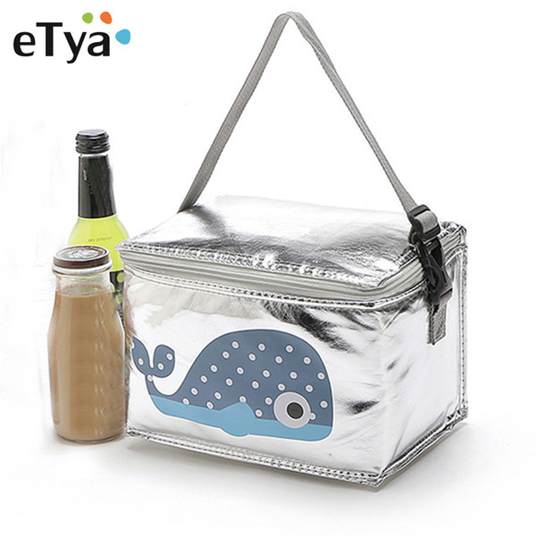 eTya Portable Insulated Lunch Bag Thermal Cooler Lunch Box Tote Kids Women Man Children Picnic Storage Bag Pouch Bags