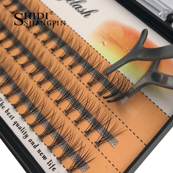 C Curl 60 pieces/Tray Individual Lashes Eyelashes 1 PC 0.07mm Mink Eyelash Extension Fake False Eyelashes 8-10-12mm