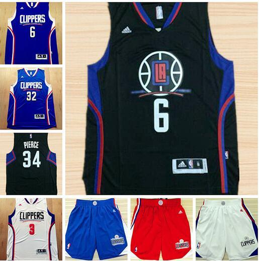 innovative design 3ad2d 04ff8 Men Los Angeles Basketball Clippers Jersey 32 Blake Griffin ...