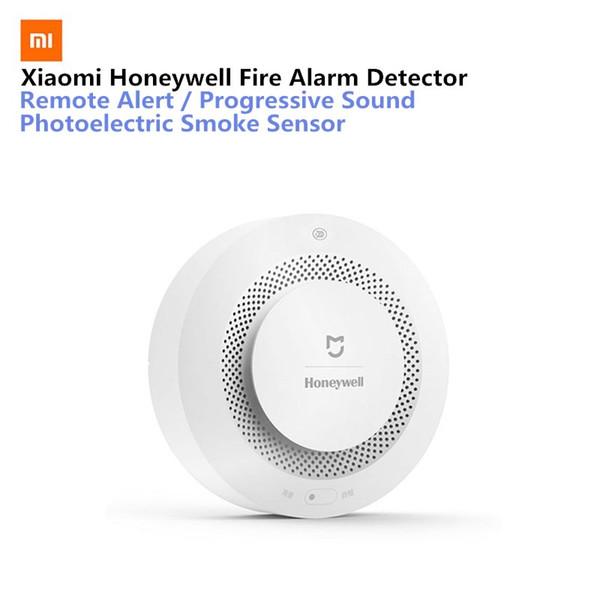 Xiaomi Mijia Honeywell Fire Alarm Detector Audible Visual Smoke Sensor  Remote Mihome APP Smart ControlGas/Smoke Alarm Detector Exercise Trackers