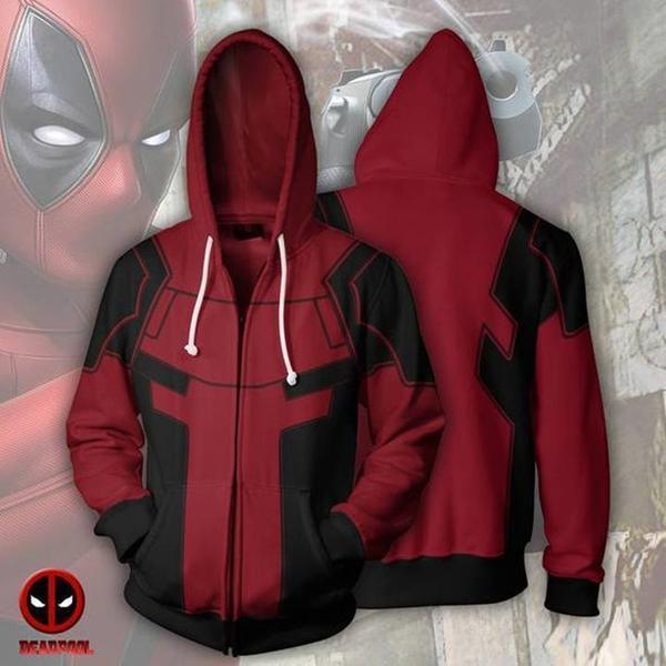 Cremallera Cloudstyle Compre Deadpool Antihero Hombre Con Sudaderas dw0wPHqXx