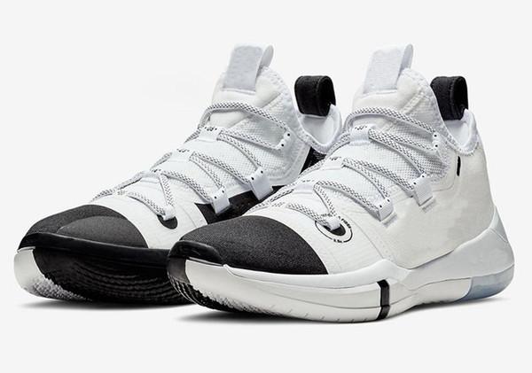 2020 обуви Новой моды Париж Top Basketball качество Кобе AD Лейкерс золото обувь горячие продажи Kobe Bryant New Kids Открытую обувь Бесплатная доставка