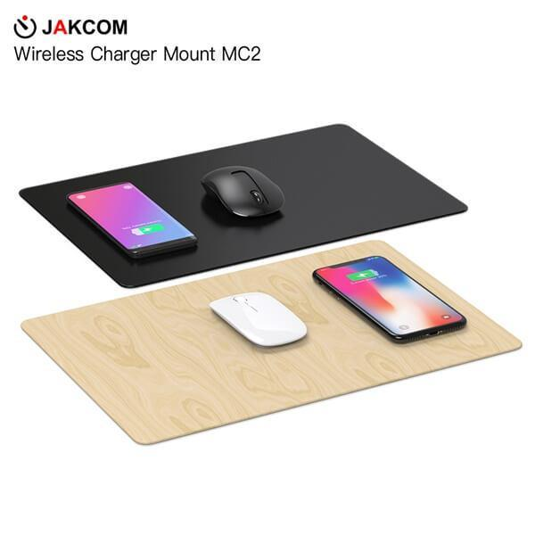 top popular JAKCOM MC2 Wireless Mouse Pad Charger Hot Sale in Mouse Pads Wrist Rests as navigator dog axt smallest mobile phone 2021