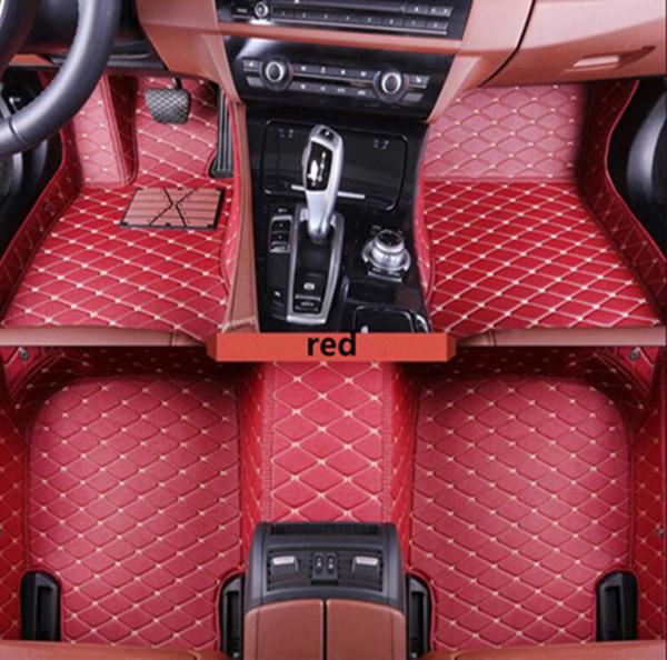 Adequado para Lexus LX série 2016-2017 antiderrapante, ambientalmente amigável, tapetes de carro não-tóxico