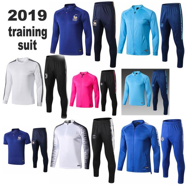 Camisetas Maillot de foot Maillot de foot Maillot de survêtement maillot de training personnalisé Veste Chandal DYBALA GRIEZMANN MBAPPE survêtement en jersey 2019