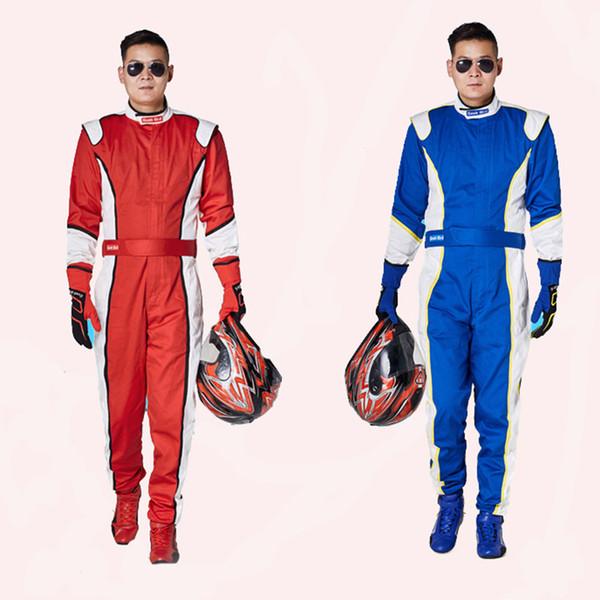 Tek parça yarış takım elbise kart ATV motosiklet giyim alev geciktirici sertifikasyon off-road ralli sürme takım elbise pantolon yaz ceketler