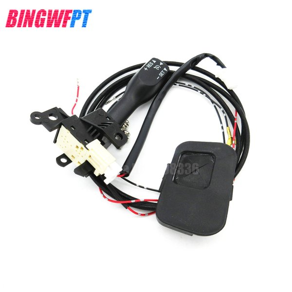 Cruise Control Switch Kit 84632-34011 84632-34017 For Toyota Corolla Steering Wheel Cover 45186-02080-C0 Handle Cover