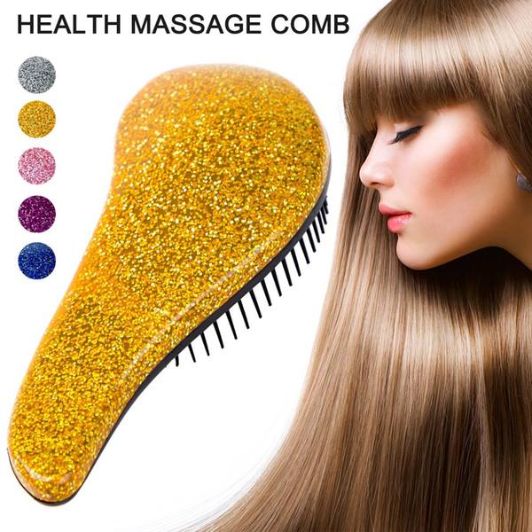 Anti-statik Düz Saç Masaj Tarak Sihirli Şekillendirici Salon Sağlık Tarak Fırça baş masajı için DC88