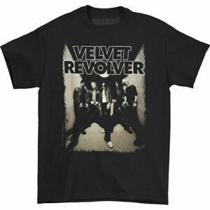Velvet Revolver Men 039 s Band Photo T Shirt BlaRock