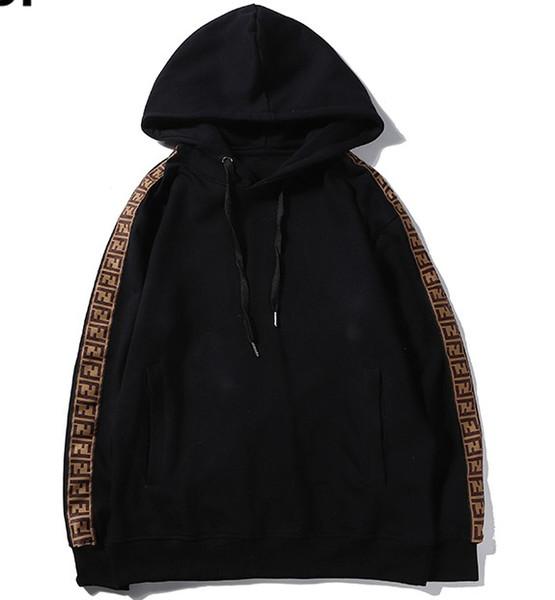 2020 New Hot des femmes des hommes Sweat-shirt Sweats à capuche rayé à manches longues Pull Fashion Chemisier RUNNING de haute qualité en gros B101568Q